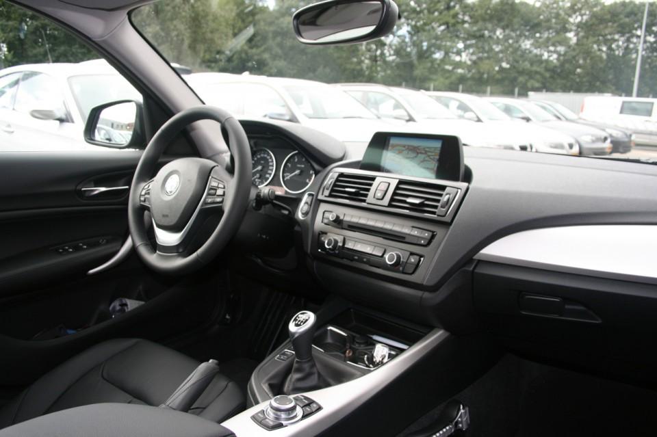 BMW F20 116d EfficientDynamics Edition Dashboard