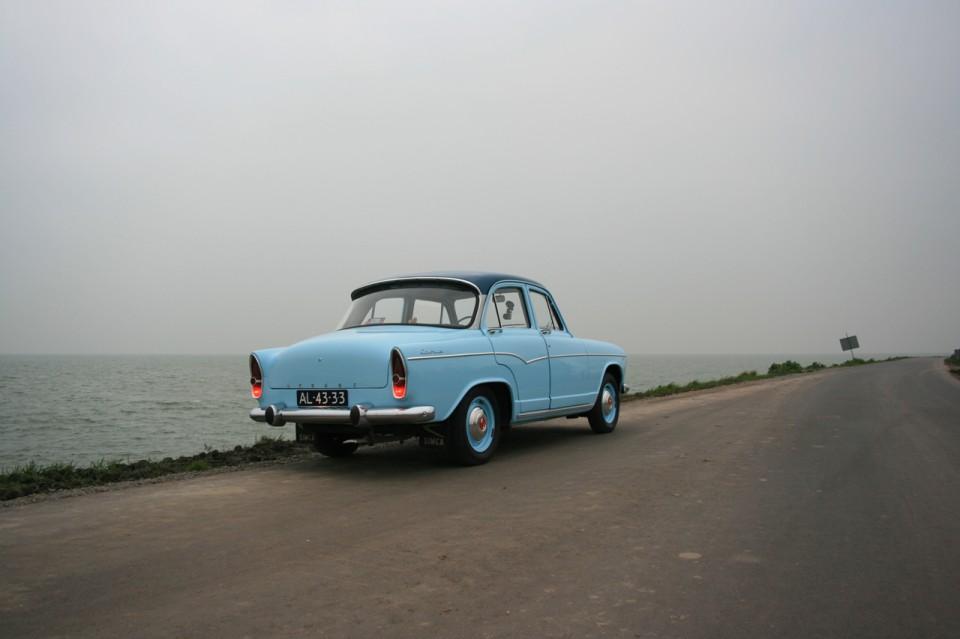 Simca Aronde Etoile P60 Achterkant