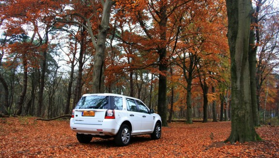 Land Rover Freelander 2 Achterkant