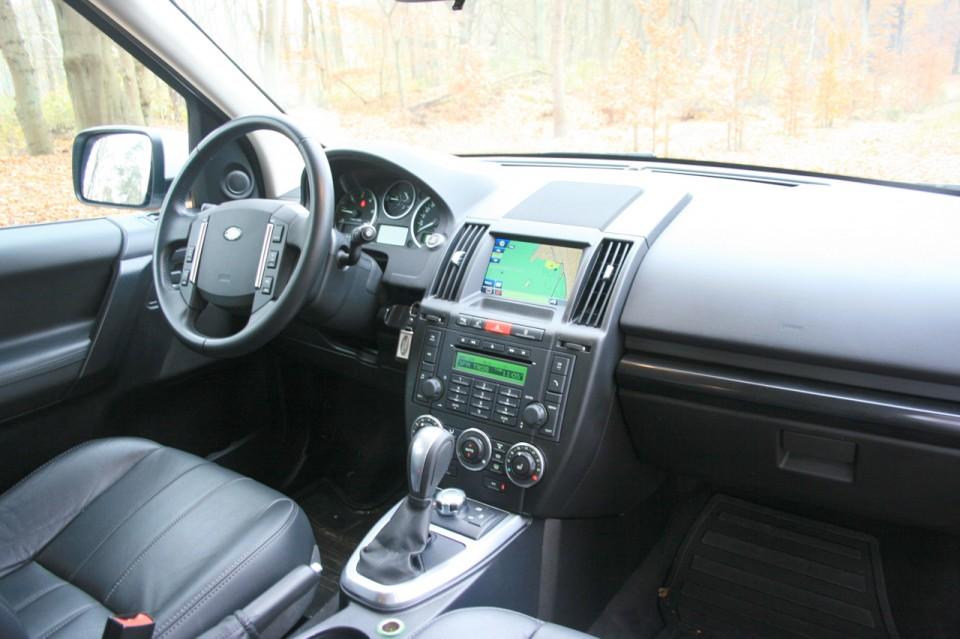 Land Rover Freelander 2 Dashboard