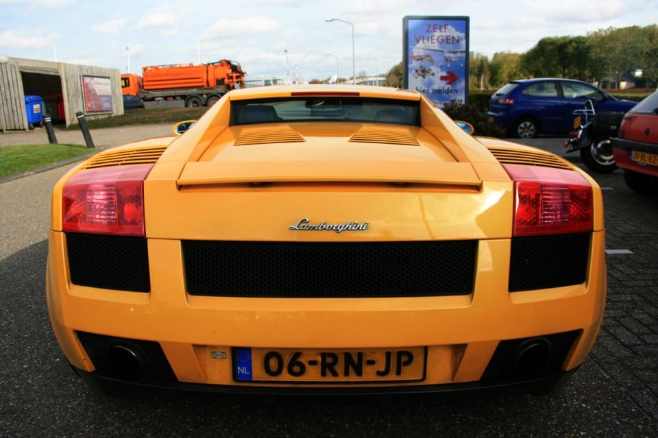 Lamborghini Gallardo Achterkant