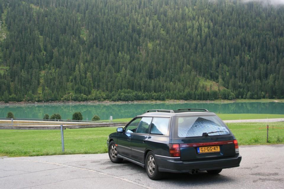 Subaru Legacy Turbo Achterkant