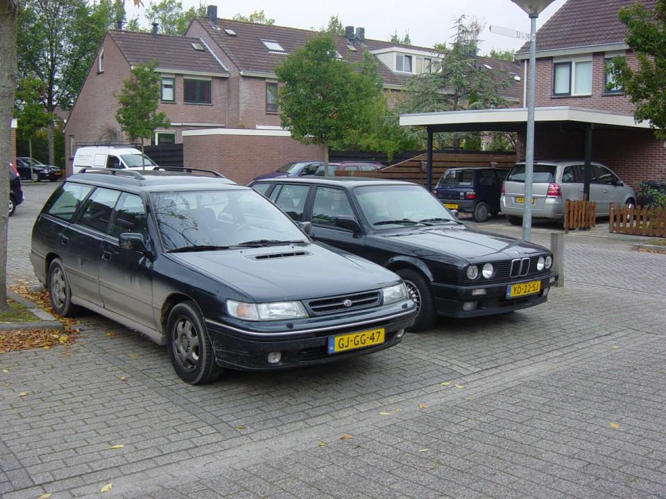 Subaru Legacy Turbo Voorkant