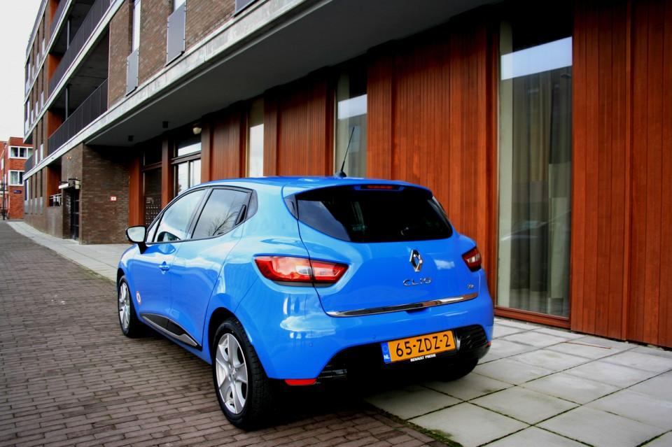 Renault Clio Achterkant