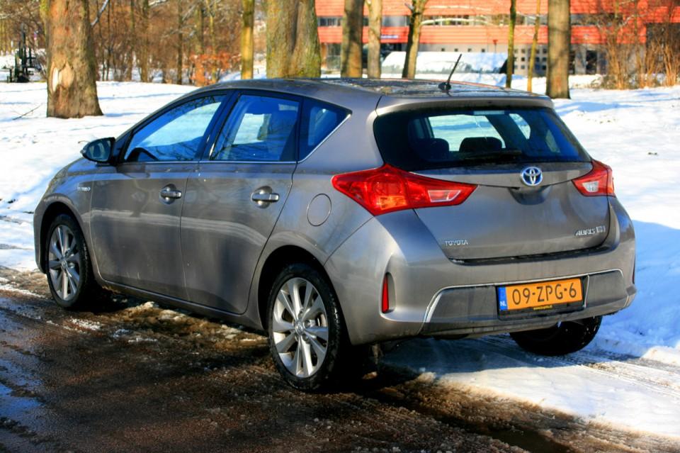 Toyota Auris Hybrid Achterkant