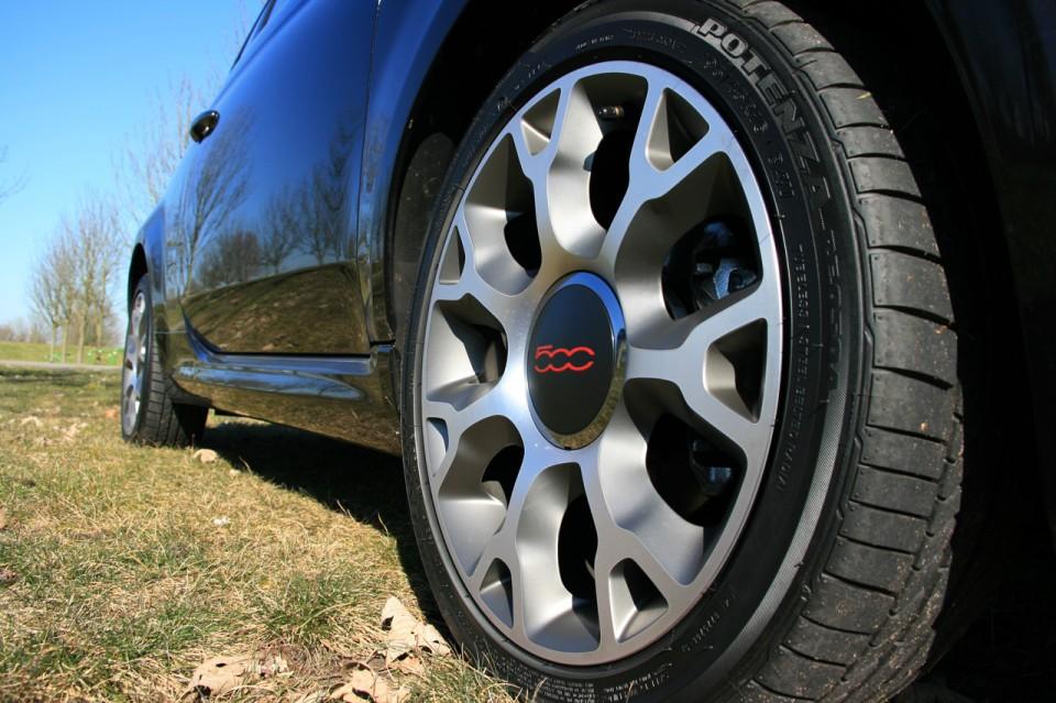 Fiat 500S Cabrio Velg