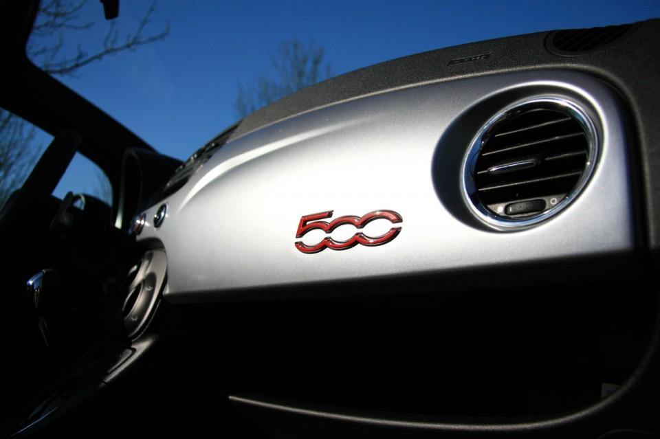 Fiat 500S Cabrio Logo