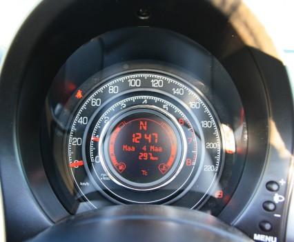 Fiat 500S Cabrio Tellers