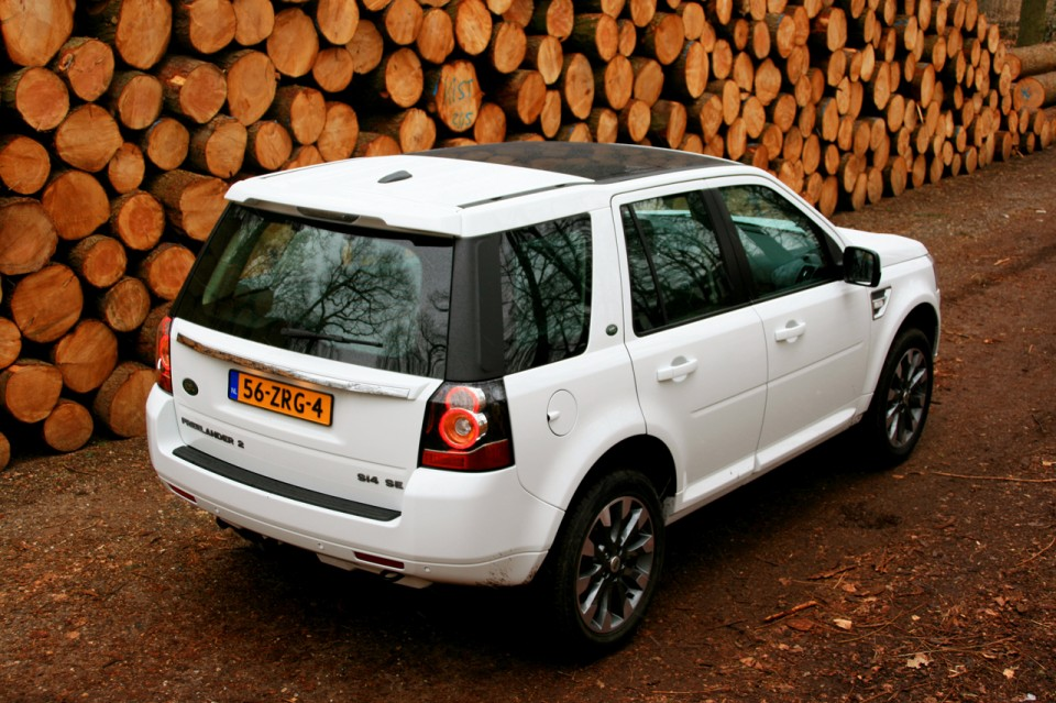 Land Rover Freelander Si4 Achterkant