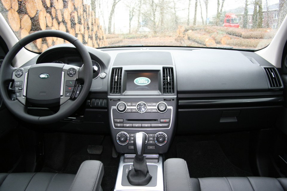 Land Rover Freelander Si4 Dashboard