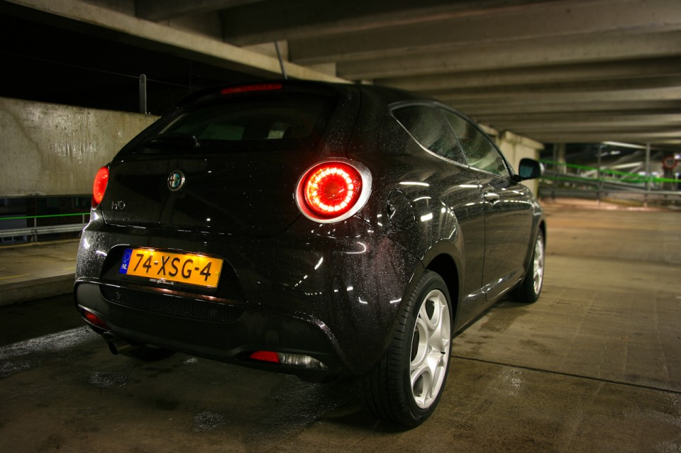 Alfa Romeo MiTo Achterkant