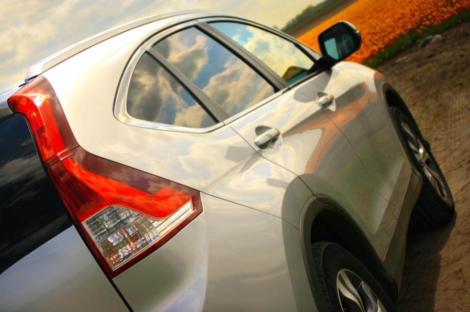 Honda CR-V Zijkant