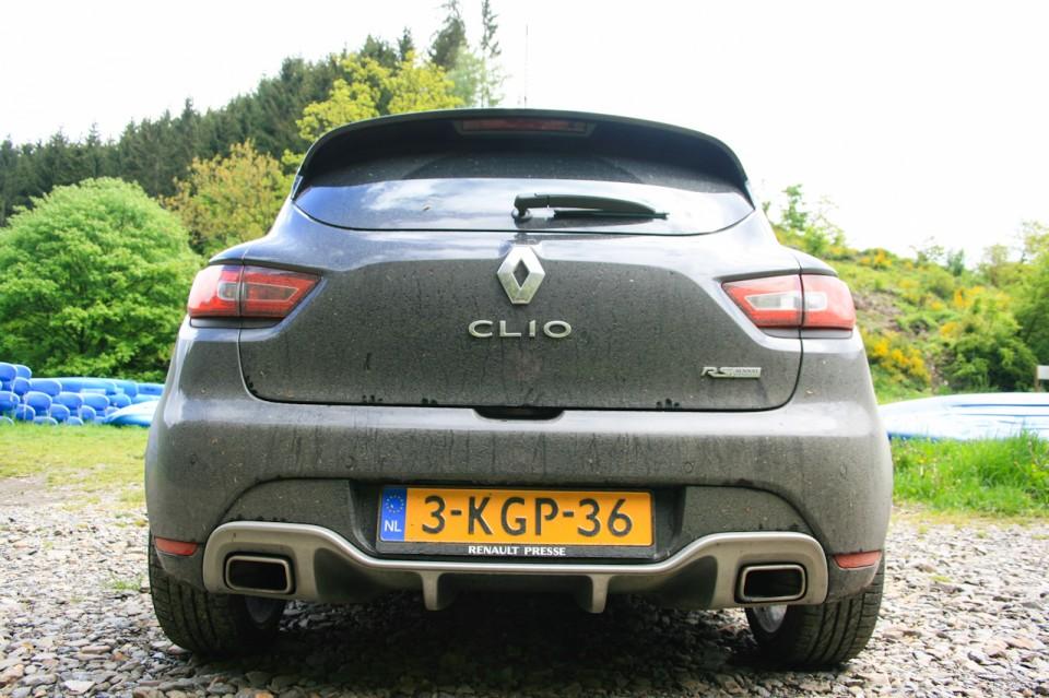 Renault Clio RS 2013 Achterkant