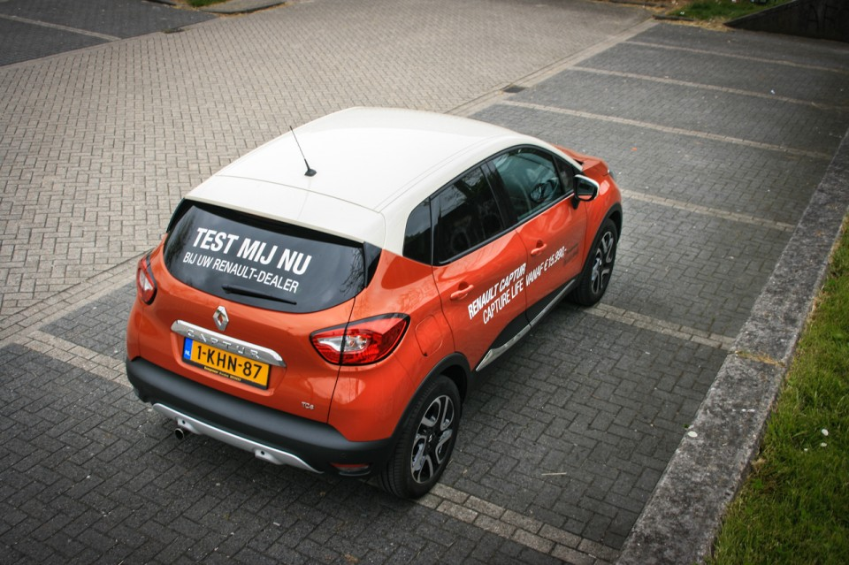 Renault Captur Achterkant