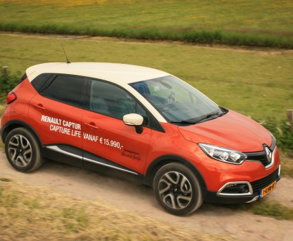 Renault Captur Zijkant