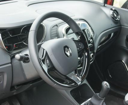 Renault Captur Dashboard