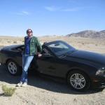 Wouter en Mustang