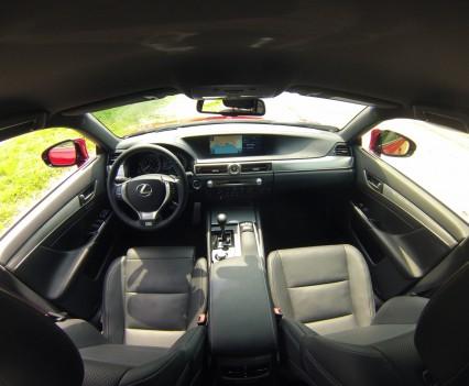 Lexus GS450h F Sport Line Interieur