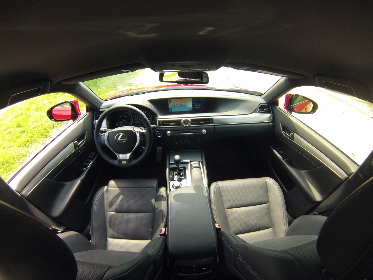 Lexus gs 450h video rijtest love at first drive for Interieur sport youtube