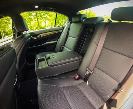 Lexus GS450h F Sport Line Achterbank