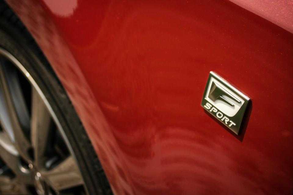 Lexus GS450h F Sport Line Logo