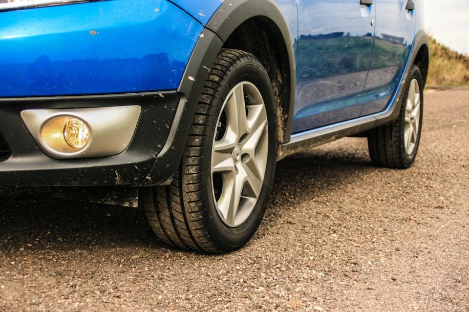 Dacia Sandero Stepway Onderkant