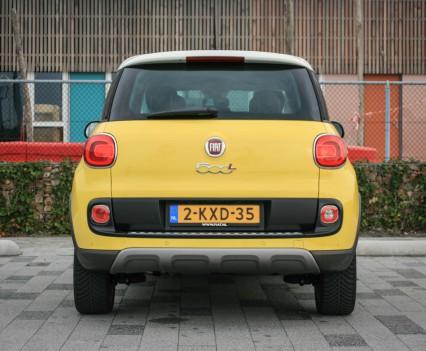 Fiat 500L Achterkant