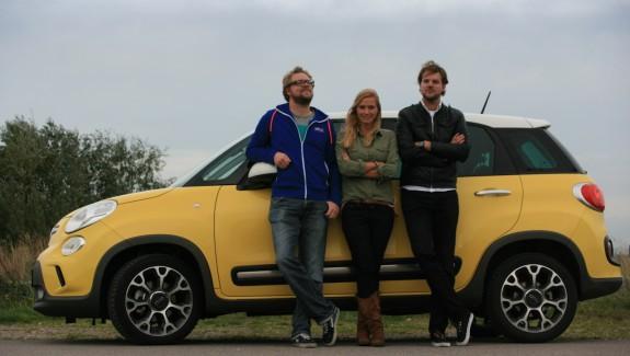 Fiat 500L Laurens Honselaar, Aimee de Vries, Wouter Honselaar