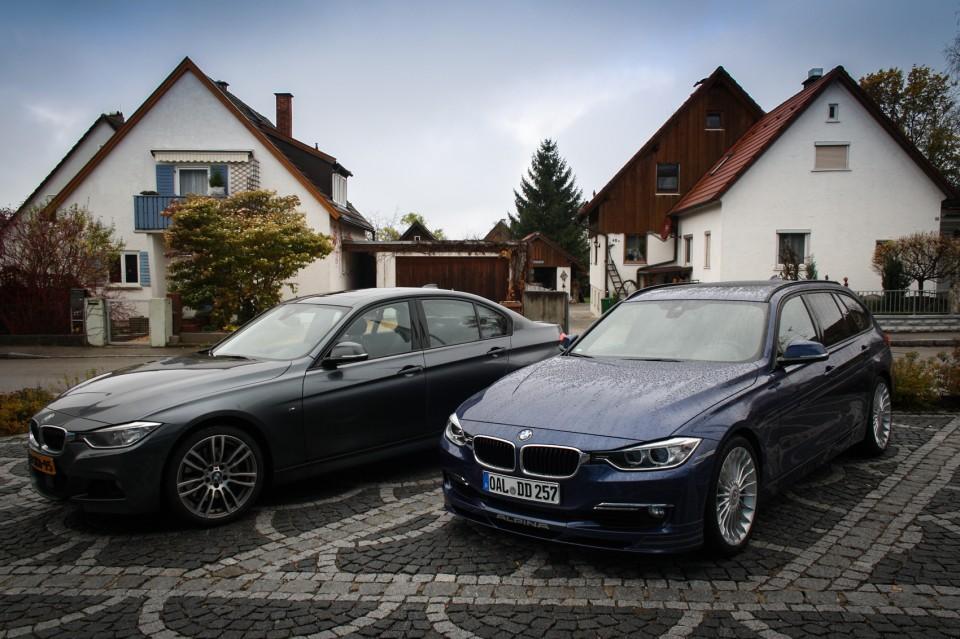 BMW Alpina D3 F31 Biturbo and 335d xDrive