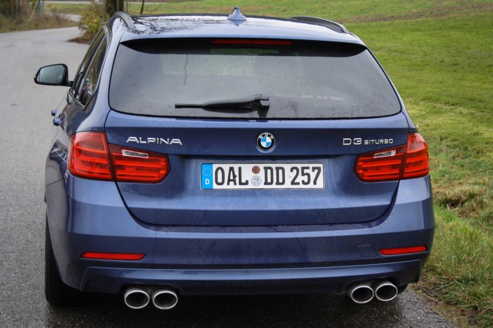 BMW Alpina D3 F31 Biturbo Back