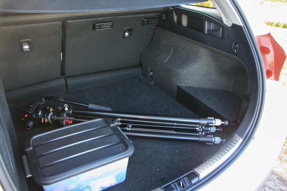 Toyota Auris Hybrid Touring Sports Achterbak