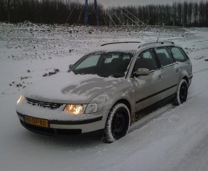 Volkswagen Passat 3B 4Motion snow