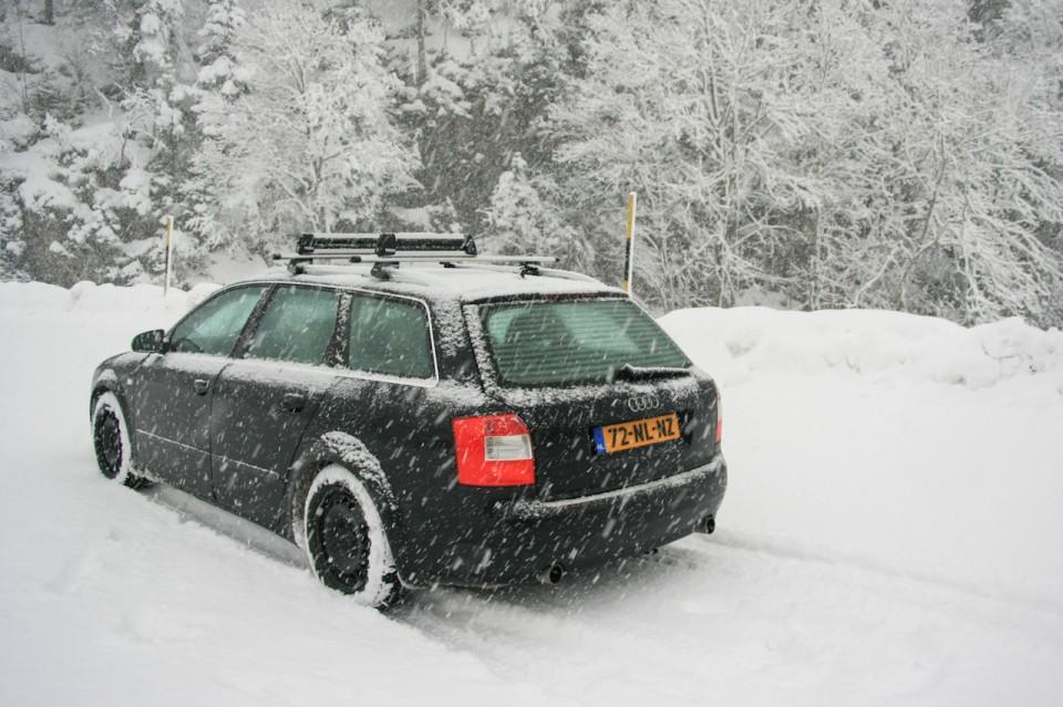 Audi A4 B6 TDI quattro snow
