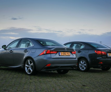 Lexus IS 300h en IS 250