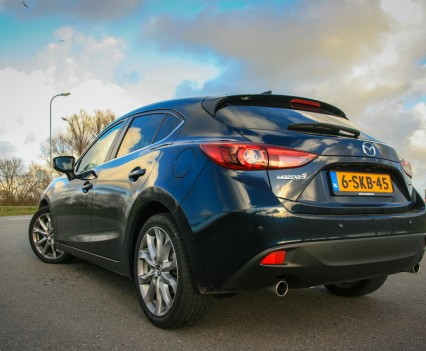 Mazda 3 achterkant