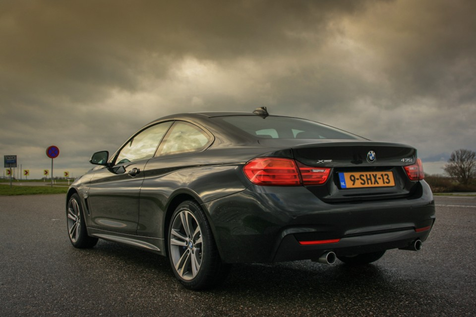 BMW 4-series 435i Coupe Rear