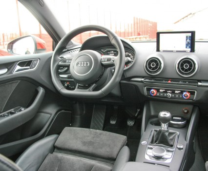 Audi A3 Limousine Dashboard