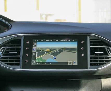 Peugeot 308 i-Cockpit Scherm