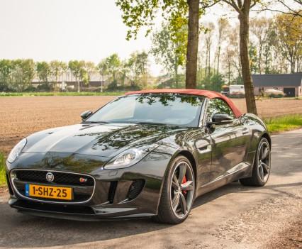 Jaguar F-TYPE Convertible V6 S Schuinvoor