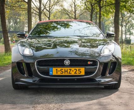 Jaguar F-TYPE Convertible V6 S Voorkant