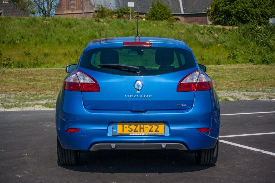 Renault Megane Achterkant