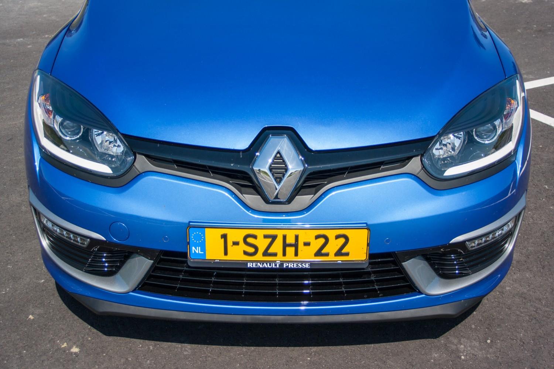 Renault Megane Voorkant