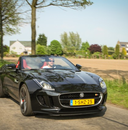 Fun type: Jaguar F-type Convertible