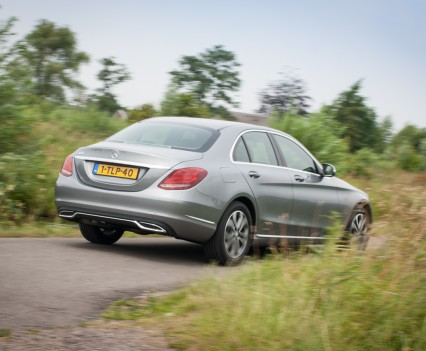 Mercedes C Klasse W205 achterkant