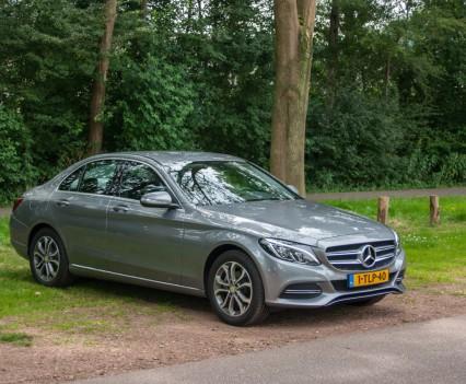 Mercedes C Klasse W205 zijkant