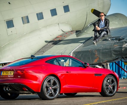 Jaguar F-TYPE Coupe Robert Doornbos