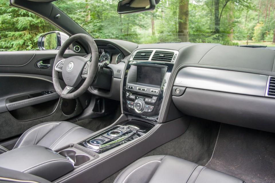 Jaguar XKR-S Convertible Dashboard