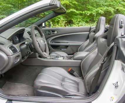 Jaguar XKR-S Convertible Interior