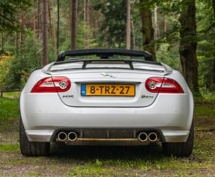 Jaguar XKR-S Convertible Rear White