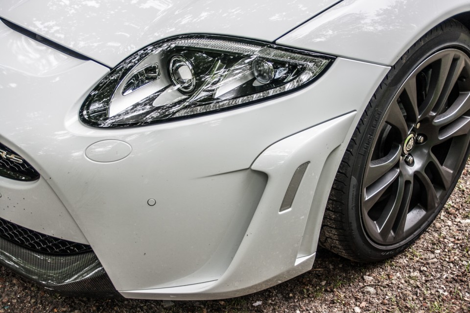 Jaguar XKR-S Convertible Headlight White